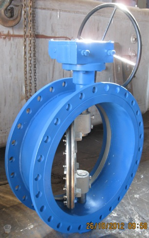 Double-Flanged-End-Butterfly-Valve-Manufacturers-Manufacturer-Exporters-India